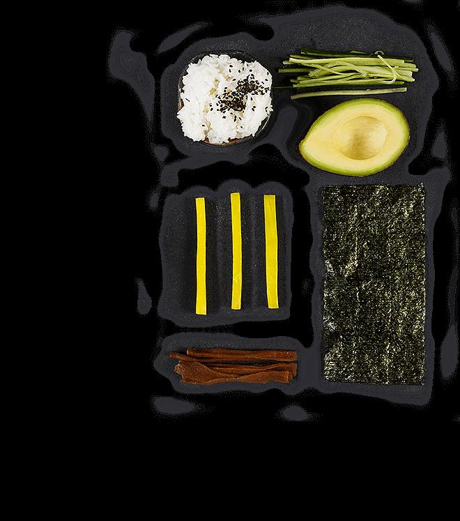 Składnik do Handrolla Vege wegetariańskiego